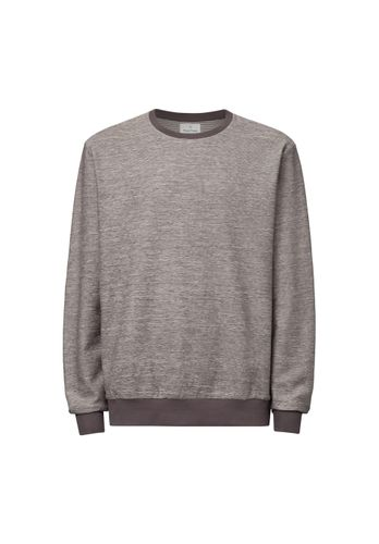 ThokkThokk Men Sweater Grey Melange Organic Fair