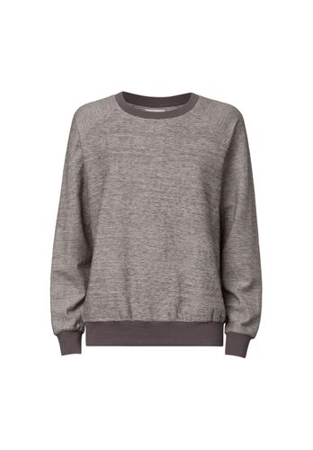ThokkThokk Damen Sweater Grau Meliert Bio Fair