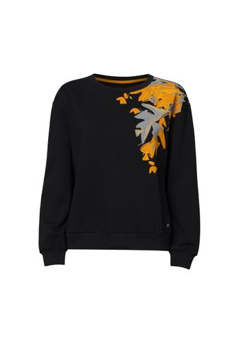 ThokkThokk Women Sweatshirt Indian Summer Black Organic Fair