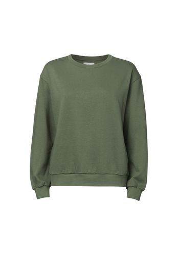 ThokkThokk Damen Sweater Grün Bio Fair