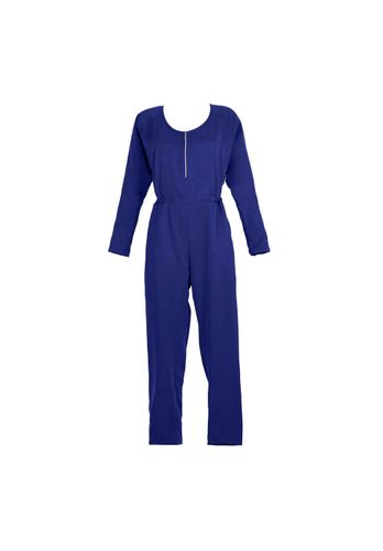 LOVJOI Women Jumpsuit MOONWORT Blue Sustainable Fair