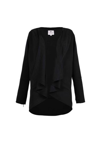 LOVJOI Women Blazer DAISY LEAVE Black Sustainable Fair