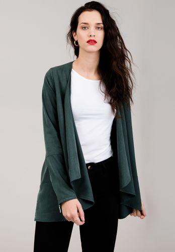 LOVJOI Women Blazer DAISY LEAVE Dark Green Sustainable Fair