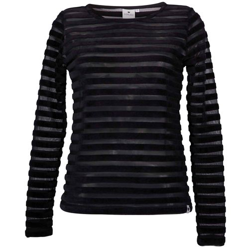 LOVJOI Women Longsleeve KATNISS Black Organic Fair