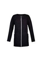 Jacket COAST DART Relief Waves Black