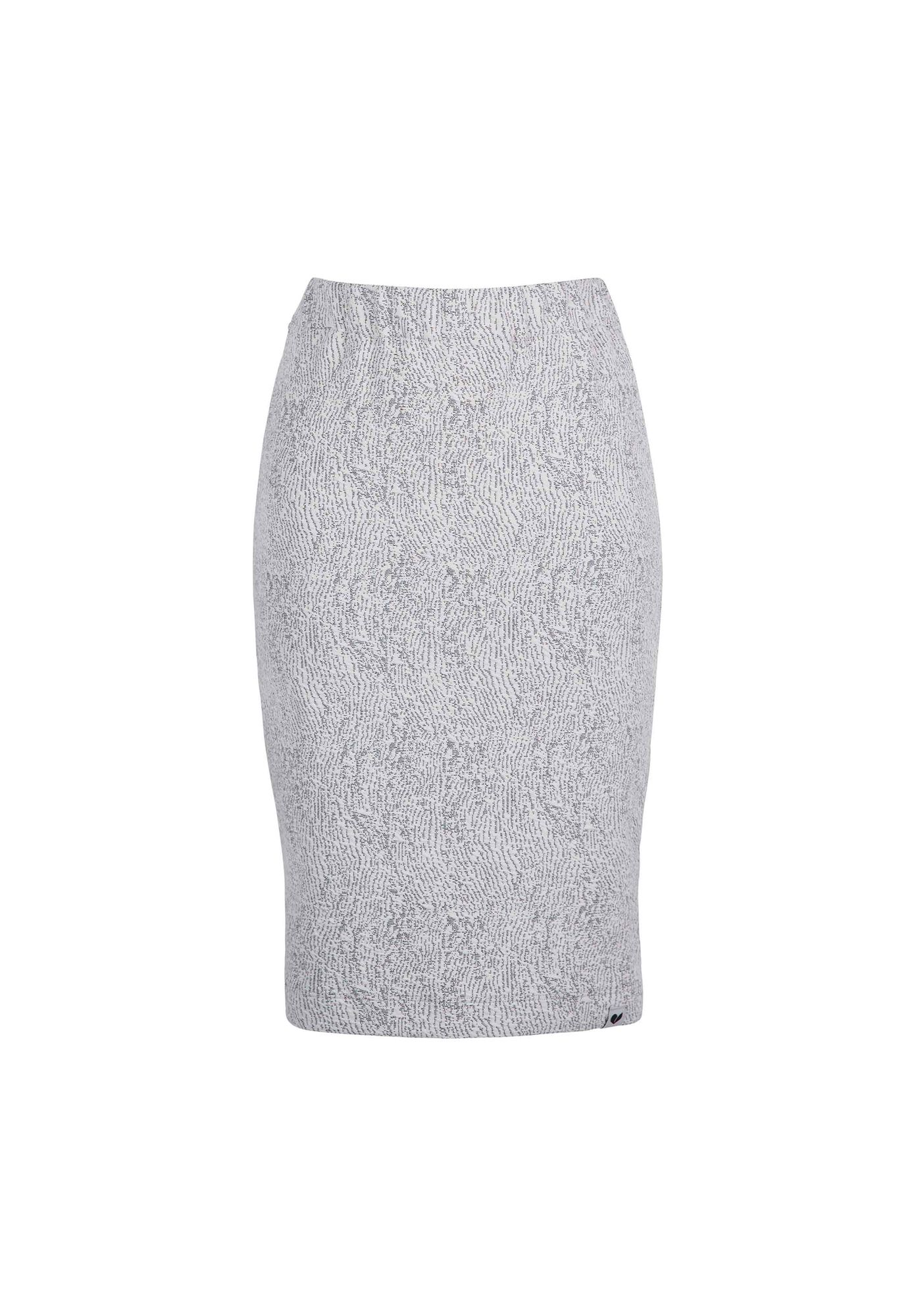 Skirt BLACKTHORN Relief Waves Ecru