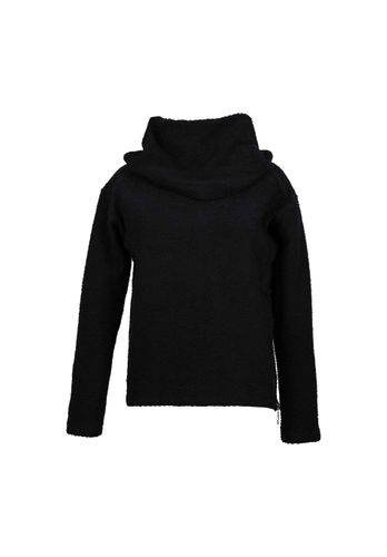LOVJOI Women Sweater JUNIPER Black Organic Fair