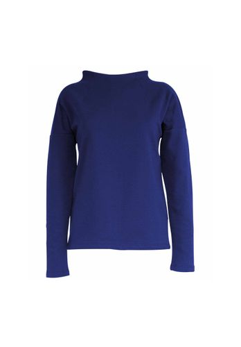 LOVJOI Women Sweater RUILA Blue Organic Fair