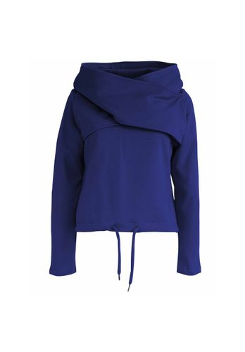 LOVJOI Women Sweater KUNGLA Blue Organic Fair