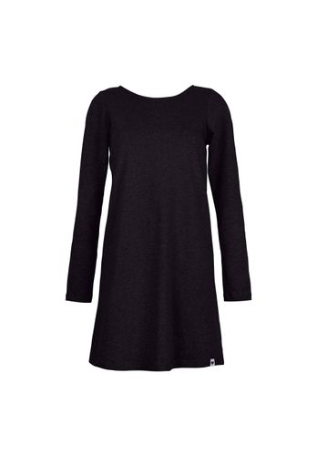 LOVJOI Women Dress DAISY Black Organic Fair