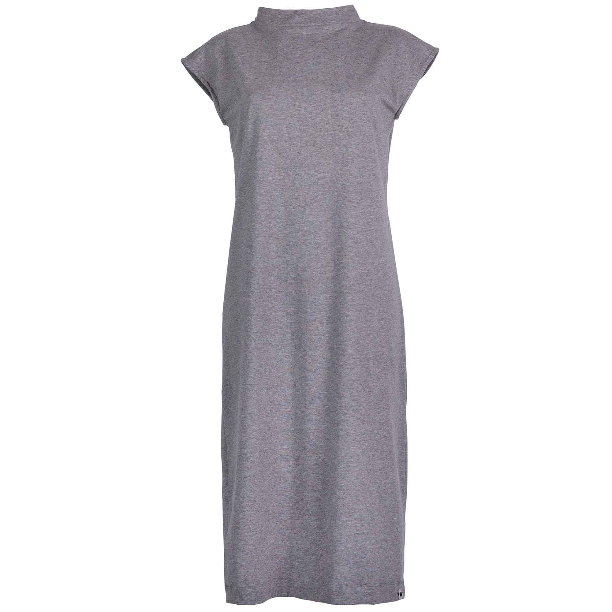 LOVJOI PURSLANE Dress Dark Grey Melange Bio & Fair