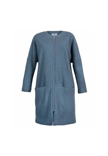LOVJOI Women Coat AGRIMONY Light Blue Organic Fair