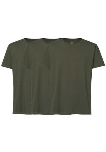 ThokkThokk Men T-Shirt 3 Pack Green Organic Fair