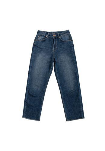 LOVJOI Damen Jeans MEDLAR Straight Middark Bio Fair