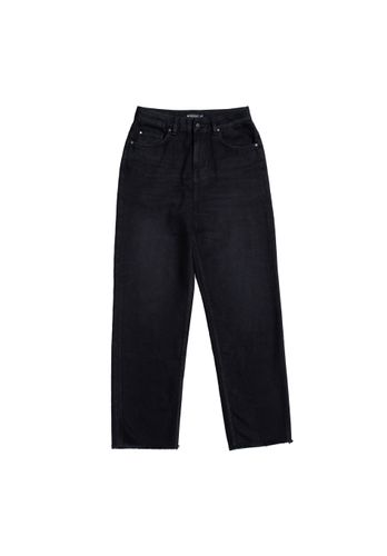 LOVJOI Women Jeans MEDLAR Straight Black Organic Fair