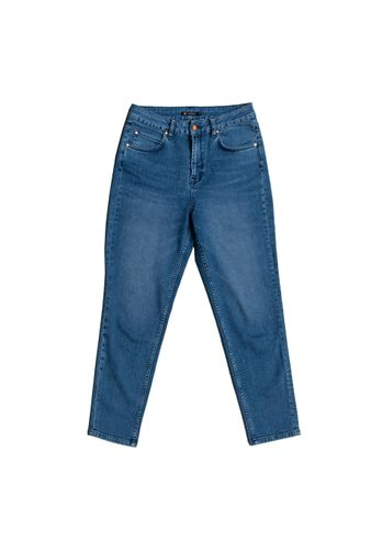 LOVJOI Damen Jeans CARPINE Mom's Blue Denim Bio Fair