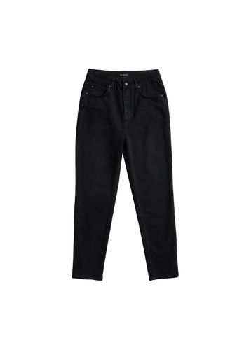 LOVJOI Damen Jeans CARPINE Mom's Schwarz Bio Fair
