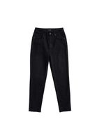 Mom Jeans CARPINE Black Overdyed