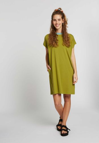 ThokkThokk Damen Boxy Shirt Dress Bio Fair
