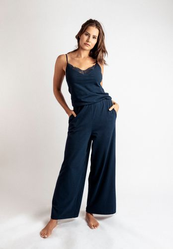 LOVJOI Women Jumpsuit OLEANDRO Dark Blue Organic Fair