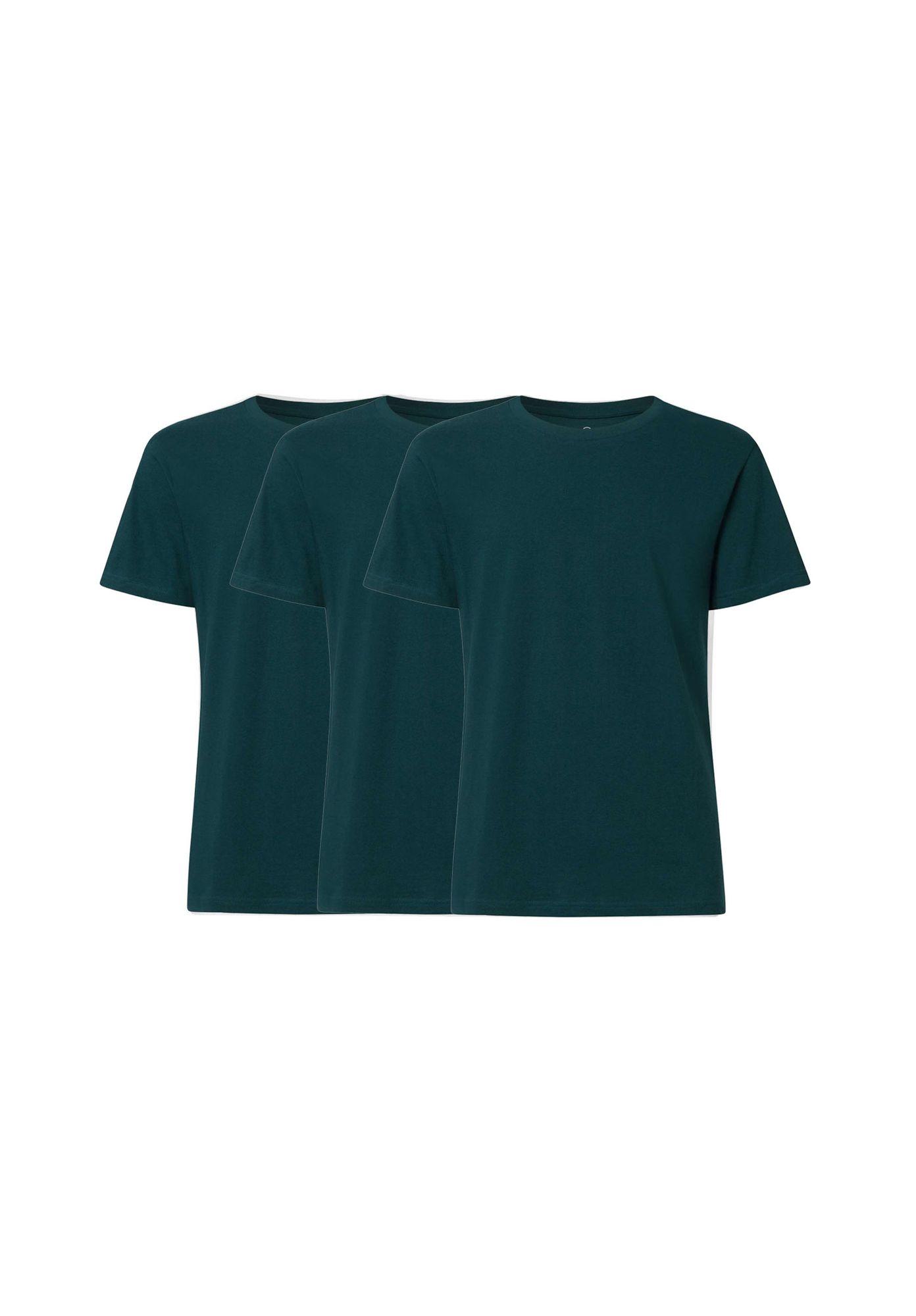 3 Pack TT02 T-Shirt Deep Teal GOTS & Fairtrade