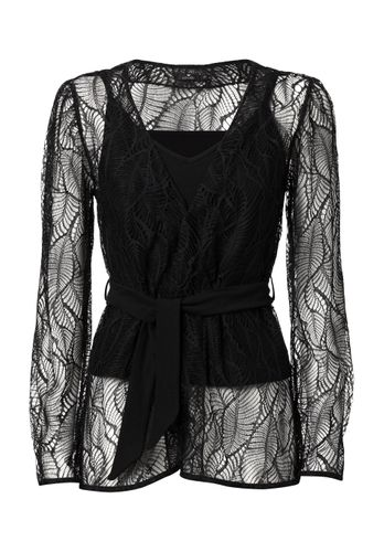 LOVJOI Women Blouse BLACK CHANTERELLE Sustainable Fair