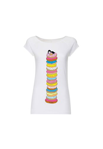 FellHerz Damen T-Shirt Donutsliebe Bio Fair