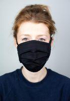 Bild 2 - Face Mask SALUTA Black