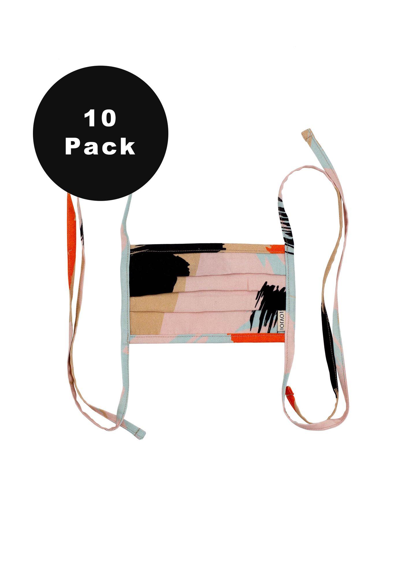 10er Pack Behelfsmundschutz SALUTA Painted