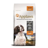Applaws Hunde Trockenfutter Adult Small & Medium Breed mit Huhn 2 kg