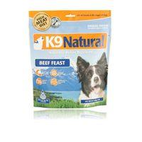 K9 Hundefutter Natural Rind für alle Hunderassen 500 g