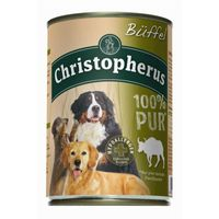 Christopherus Dog Dose Büffel pur 400g