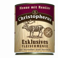 Christopherus Dog Dose Menue Rentier 800g