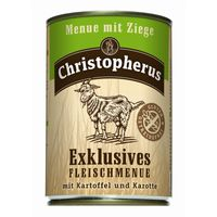 Christopherus Dog Dose Menue mit Ziege 400g