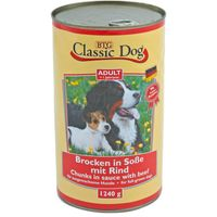 Classic Dog Dose mit Rind 1240g