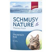 Schmusy Nature Meeres-Fisch Thunfisch pur  100g