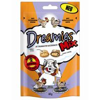 Dreamies Cat Snack Mix mit Huhn & Ente 60g