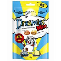Dreamies Cat Snack Mix mit Lachs & Käse 60g