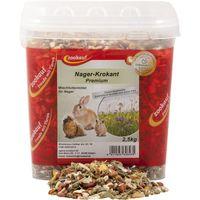 zookauf Nager Futter Premium Krokant im Eimer 2,5 kg
