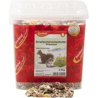 zookauf Nager Futter Premium für Streifenhörnchen im Eimer 2,5 kg