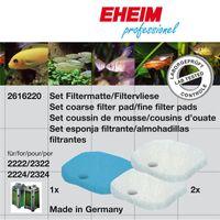 EHEIM Aquarium FiltermassenSET für 2222/2322, 2224/2324 und professionel 250 und 250T