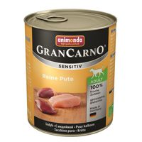 Animonda GranCarno Adult Sensitive Pute pur 800g