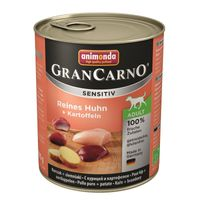 Animonda GranCarno Adult Sensitive Huhn + Kartoffeln 400g