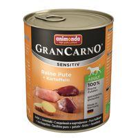 Animonda GranCarno Adult Sensitive Pute+ Kartoffeln 800g
