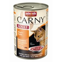 Animonda Cat Dose Carny Adult Rind & Huhn 400g
