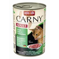 Animonda Cat Dose Carny Adult Rind & Pute & Kaninchen 400g