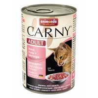 Animonda Cat Dose Carny Adult Rind & Pute & Shrimps 400g