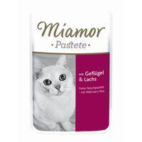 Miamor Pastete Geflügel & Lachs 85g Pouch