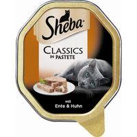 Sheba Schale Classics mit Ente & Huhn 85g