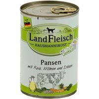 LandFleisch Hausmannskost Pansen mit Reis, Möhren und Erbsen 400 g